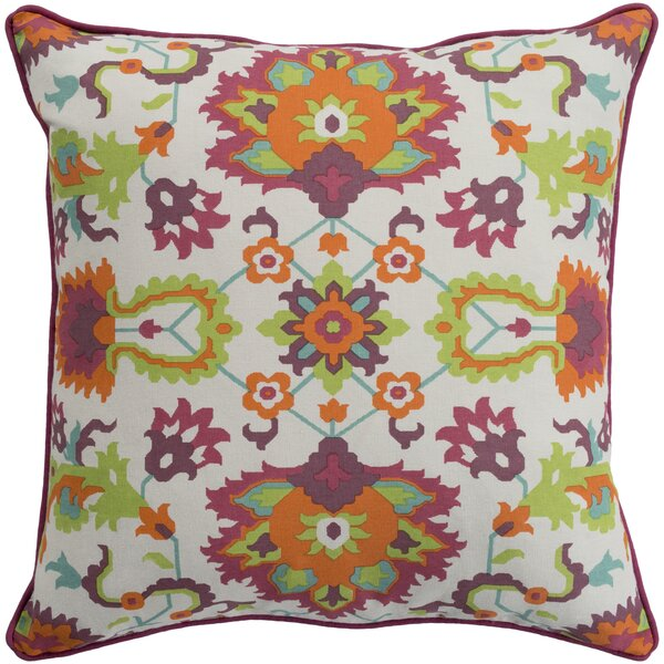 Naumann Square 100% Cotton Pillow Cover by Andover Mills
